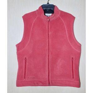 COLUMBIA Fleece Zip-Up Vest
